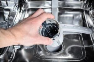 causes poorly functioning dishwashers