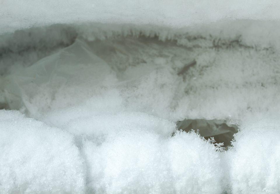 frost freezer temperature defrost